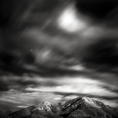 Else (Kent Mercurio) Tags: california blackandwhite bw moon mountains 120 6x6 film monochrome mediumformat square ir infrared poway kentmercuriocom kentmercurio