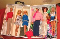 Dolls! (Lvanett the misunderstood doll & cat lover) Tags: barbie ken francie clone sandi mego uneeda vintage