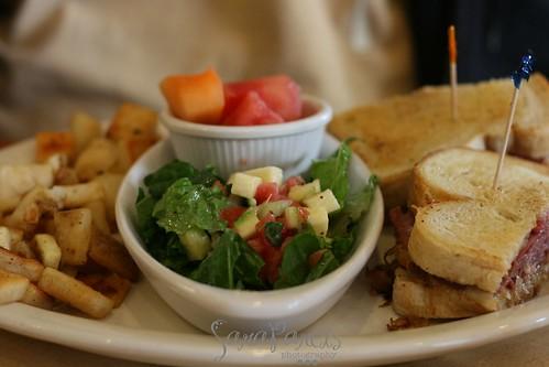 Reuben w/salad