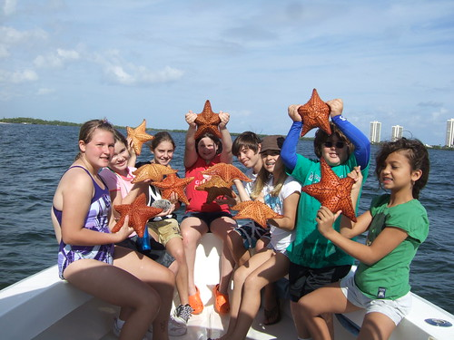 Group photo with Starfish!