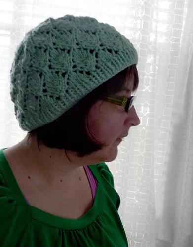 slouchy foliage hat