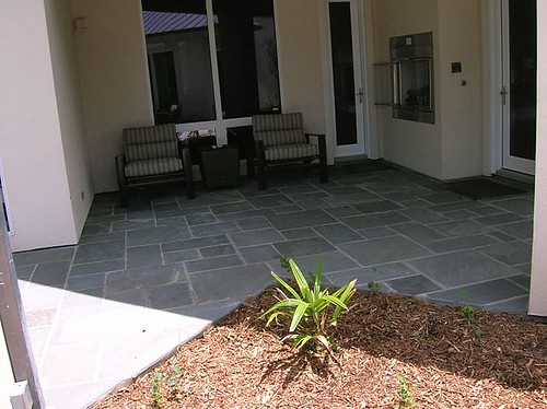 Patios landscaping rocks