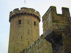 Warwick Castle-  Guy's Tower (Austrian Lancer) Tags: christmas vacation castle december united kingdom warwick 2009 warwickshire yahoo:yourpictures=bestofbritish yahoo:yourpictures=europeanmonuments
