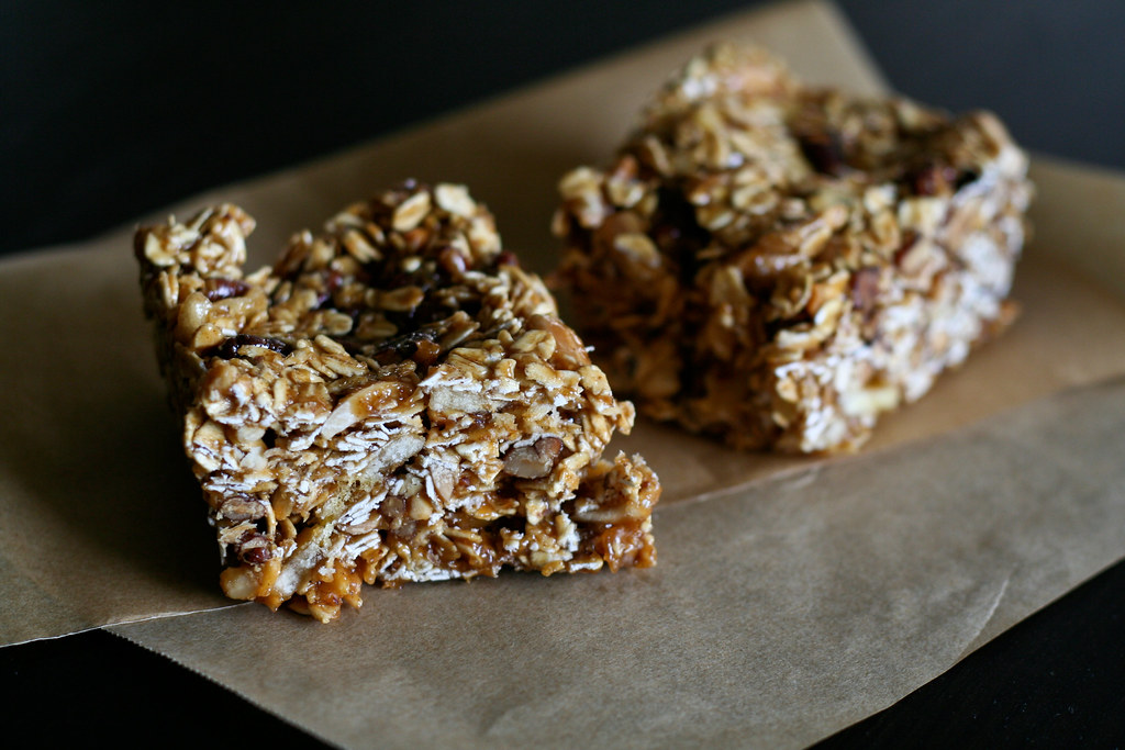 Nutty Banana Power Bars