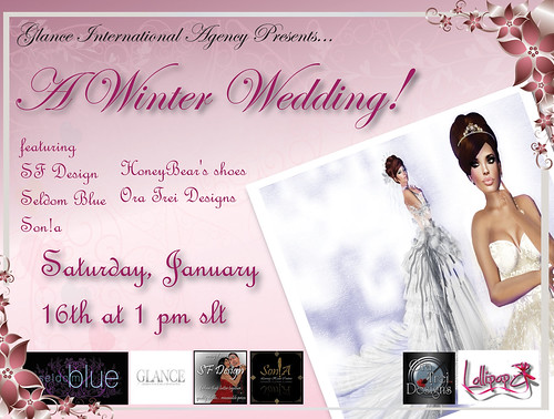 A Winter Wedding Showcase Flyer