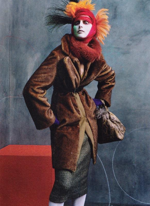 Vogue US Oct 2003 Steven Meisel 03