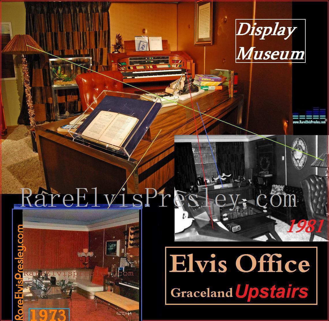 Elvis Presley - Rare Photos Upstairs @ Graceland - Page 2 - Guitars101 ...