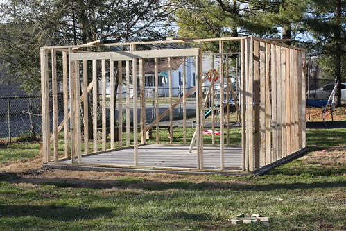 shed framed