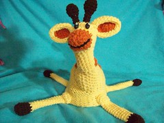 101_1023 (CrazyHatSociety) Tags: charity green animals yellow haiti hats frogs giraffes etsy donations ravelry crazyhatsociety crazyhatsocietyetsycom