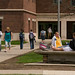 "Students outside Olin<a href=""http://farm3.static.flickr.com/2694/4328422950_28a1e8f834_o.jpg"" title=""High res"">∝</a>"