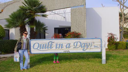 Visita à Quilt in a Day