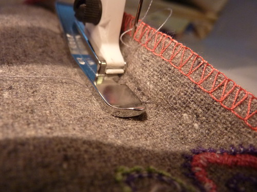 Sew the seam!