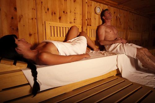 Sauna und Wellness im Tiroler Skihotel