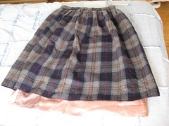 Felted Wool Skirt