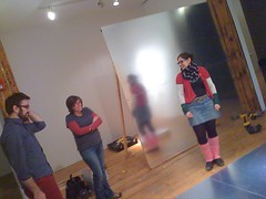 Jan 29 2010 Installation (SPACES (Cleveland)) Tags: spaces christopherlynn sarahross marilynsimmons inamostdangerousmanner