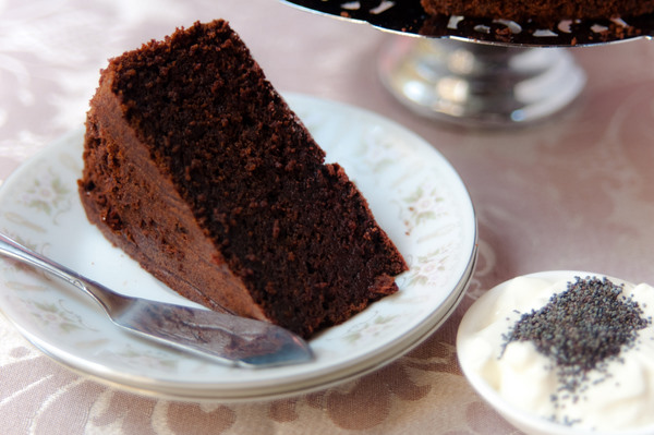 Moist chocolate beetroot cake
