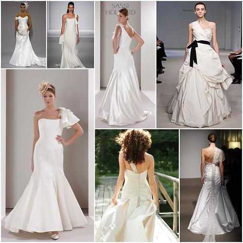Wedding Dresses, One Strap