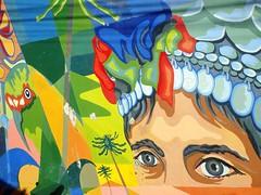 Mural al Mapuche, Valparaíso (Luis Andrés) Tags: mural mapuche