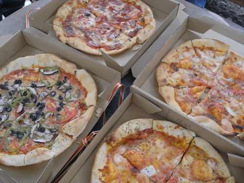 katharine娃娃 拍攝的 12愛心Pizza。