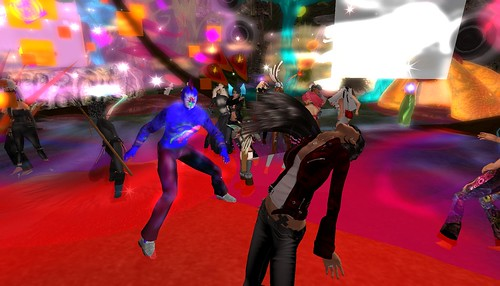 organica party in second life