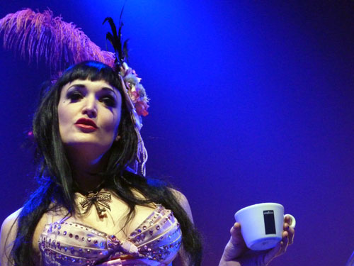 Veronica (Emilie Autumn show Luxembourg)