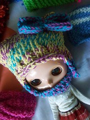 Meow! (Mooy) Tags: colorful crochet may hats collection blythe knitted sta