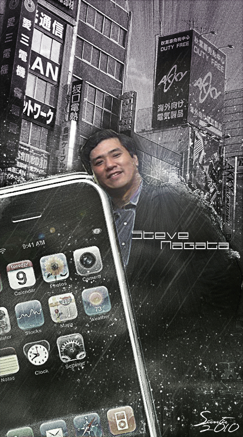 Steve Nagata, the Gadget Man