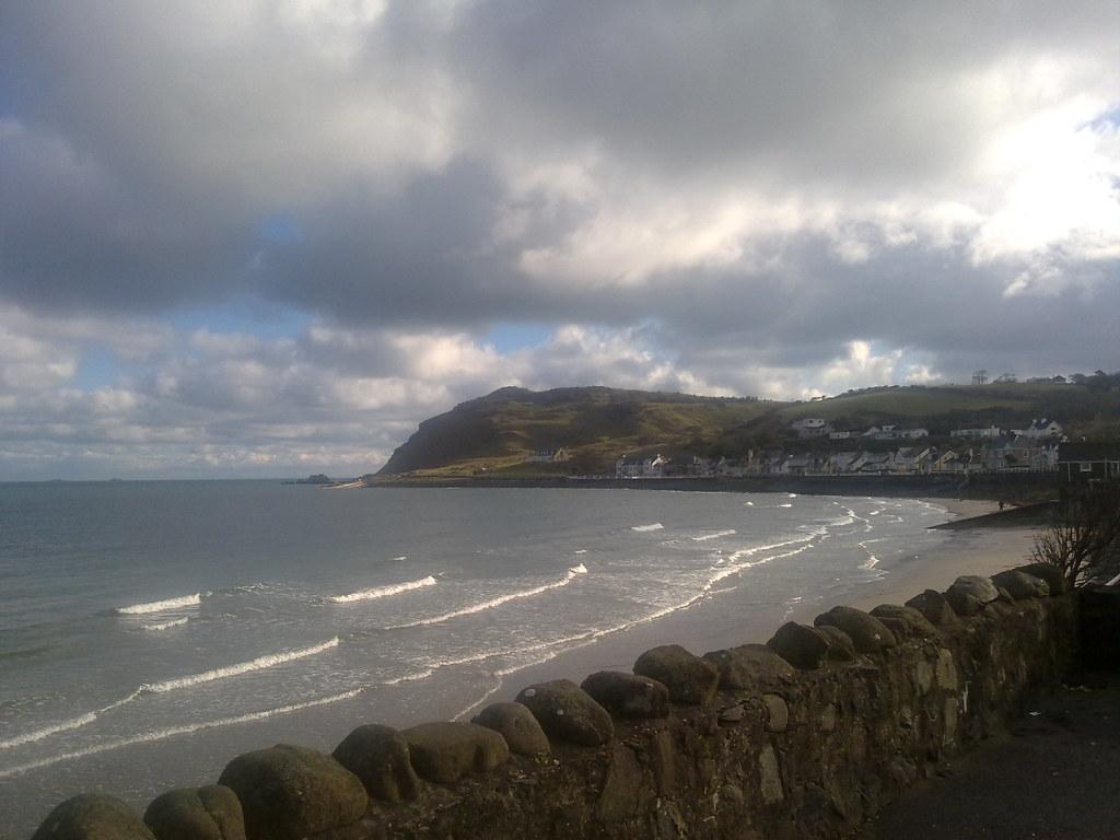 View of Antrim Coast