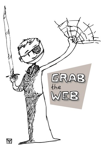 Grab the web