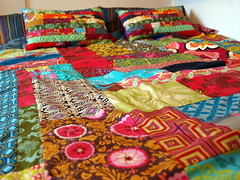 self motivation (joontoons) Tags: colorful handmade sewing workinprogress pillows cotton quilting brightcolors patchwork multicolored duvet gardenparty drawingroom fabrics bedding amybutler freespirit heatherbailey funcolors quilttop goodfolks annamariahorner valoriwells pattyyoung paulaprass joontoons randomquilt