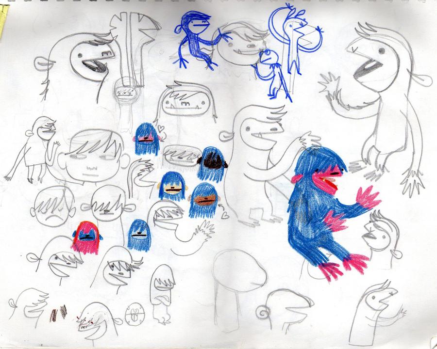 Puppet Doodles