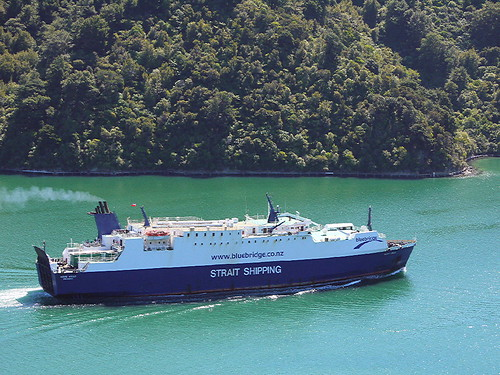 """Monte Stello"" leaving Picton"