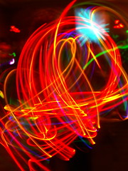 Prism Fire (SLTompkins) Tags: speed photo dance sticks high long exposure glow rave megacon