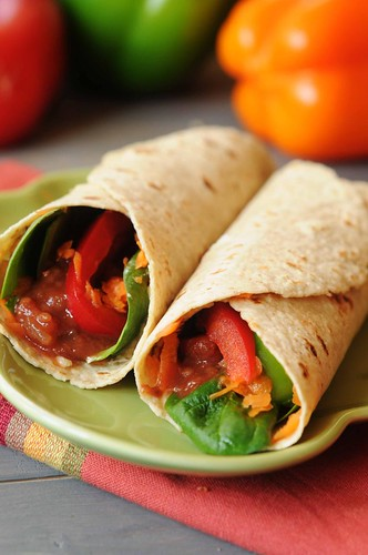 veggie wrap post
