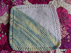 washcloth (amietron) Tags: knitting handmade dishcloth washcloth washcloths grandmothersfavorite ravelry