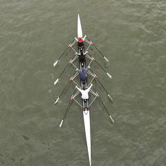 In Takt 1-2 (jeruh) Tags: river boot boat team hessen frankfurt main paddle oar fluss rower rudern paddel ruderer