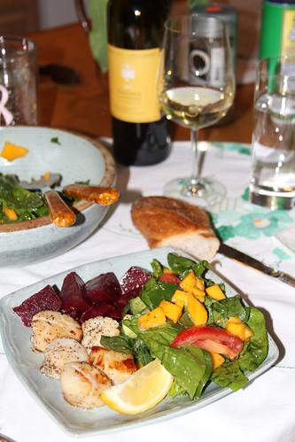 Dinner chez Liz