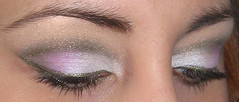white pink green (AxSDenied) Tags: pink brown white green makeup pale indie mineral cosmetics eyeshadow shimmer eotd