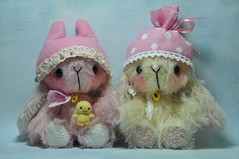 happy easter (jestar*) Tags: cute bunnies easter toys miniatures handmade ooak chick kawaii etsy jennylee jennylovesbenny loveabletreasures katiefulford