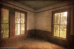 Genuine Corinthian - Upstairs at the Mansion (smacdaddy (Scott MacInnis)) Tags: wood old light house abstract black color detail abandoned home colors lines sepia rural georgia golden wooden glow moody afternoon shadows decay interior nolan scenic shapes historic forgotten american worn lone weathered dreamy layers lonely hdr bostwick