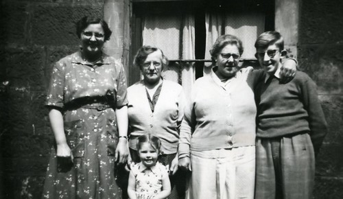 Watt and Murray Family, 1958