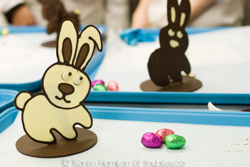 Easter Extravaganza course at Chocolate Arts