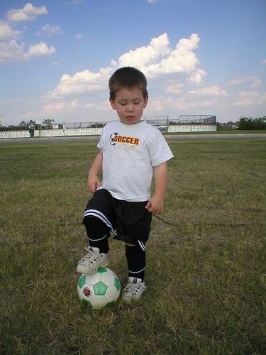 1st soccer practice J2