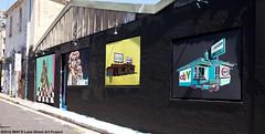 MAY'S presents Deb and Mini Graff (MAY'S Lane Street Art Project) Tags: street streetart stpeters art graffiti artwork stencil artist ebay sydney obey murals australia artists aerosol deb mays minigraff maylane
