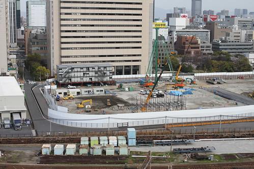 5c02cc77d968 大阪梅田の再開発をじっくりと定点観測してみるブログ | 第1期工事が ...