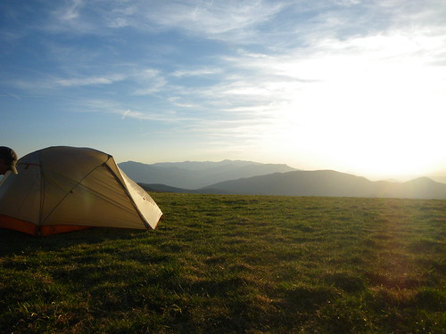 Tent on Max Patch
