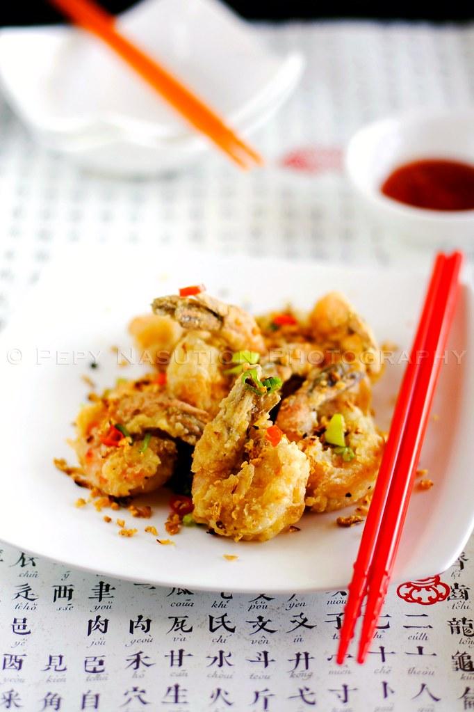 Deep Fried Shrimp ala Bie Fong Tong
