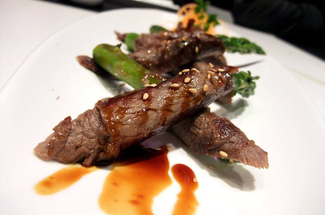 Beef with Asparagus