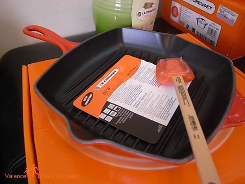LE CREUSET_橘色烤盤