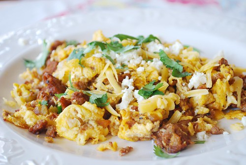 ... carb/low glycemic dinner or breakfast give Chorizo Egg Scramble a try